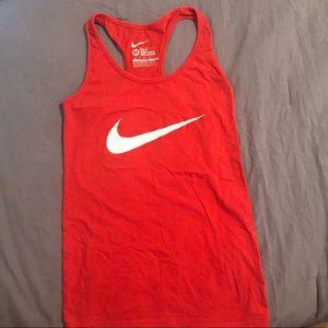 Red Nike Tank